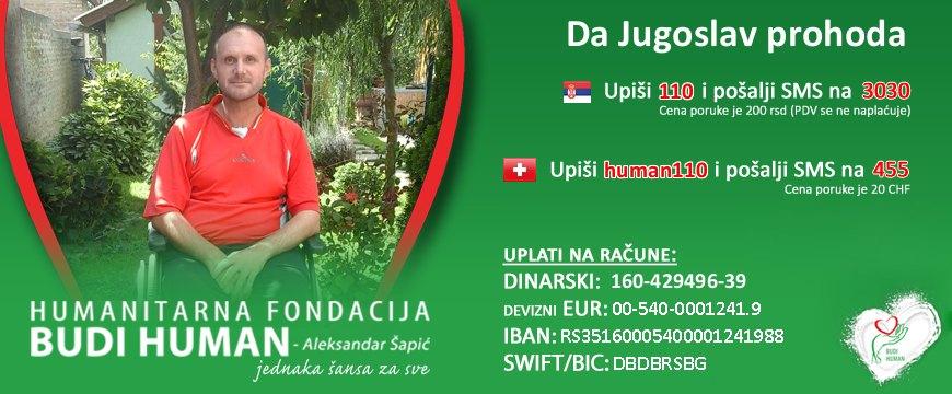 Budi human fondacija Jugoslav Berklović