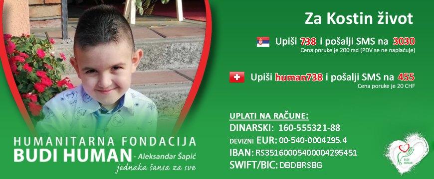 Budi human fondacija Kosta Petković