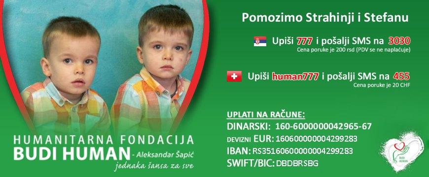 Braća Jovančević Budi human fondacija