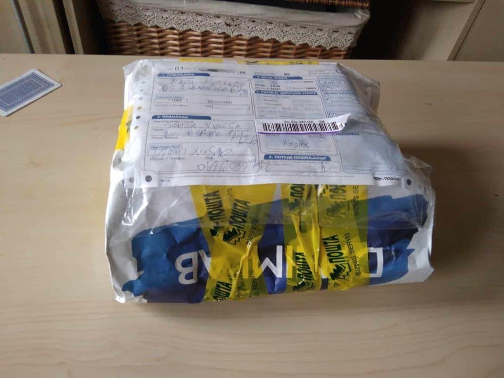 Poklon paket poštanskapošiljka poklon Knjigom do osmeha